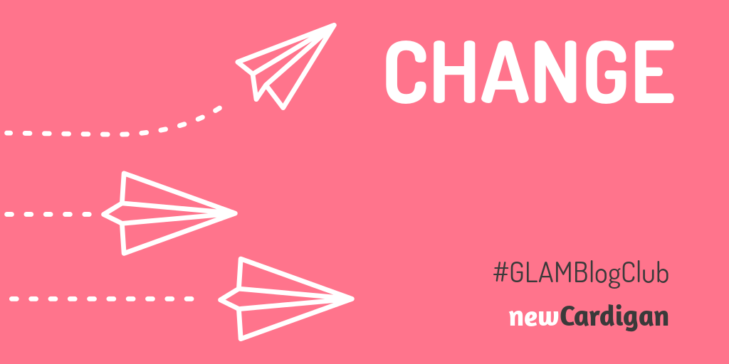 'CHANGE' with image of three paper planes, one turning in a new direction